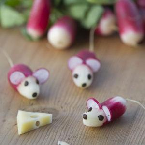 Idées à réaliser avec des radis