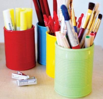 Du kit à planter au pot à crayons
