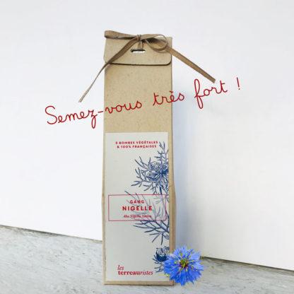 Bombes à fleurs : nigelle